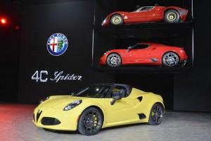 Alfa Romeo 4C - Detroit 2015