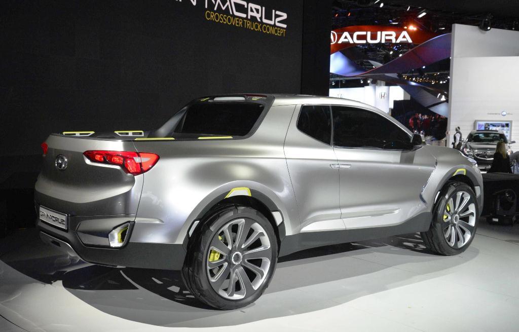Hyundai Concept Santa Cruz Crossover