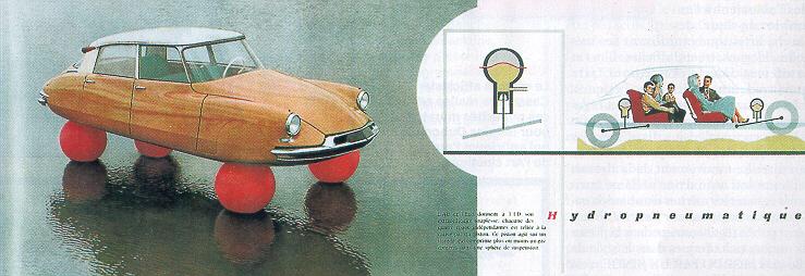 """Citroën DS """"flottante"""""""