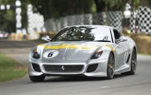Ferrari 599 GTO décoration Tour de France 64 - Festival Of Speed Goodwood 2011