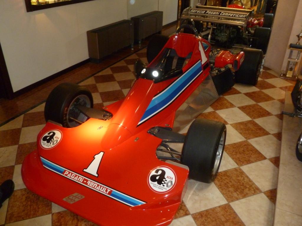 Formule 2 Horacio Pagani