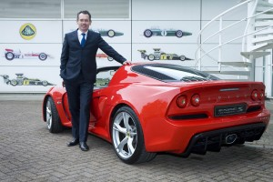 Jean-Marc Gales PDG de Lotus - Exige S V6 Roadster