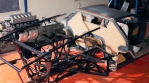 Lamborghini LP500 Countach Evoluzione cellule Carbone