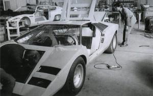 Lamborghini LP500 - usine