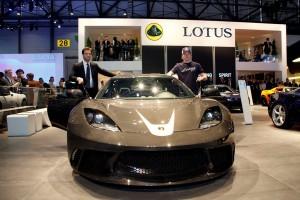 Lotus Evora GTE - Dany Bahar & Kimi Raikkonen