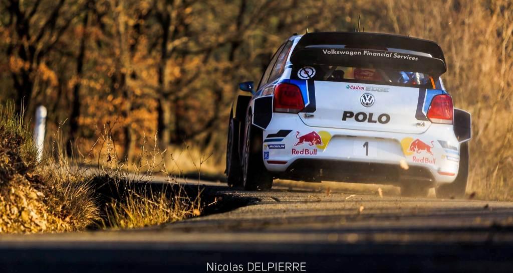 Rallye Monte-Carlo 2015 - Sébastien Ogier - VW Polo WRC
