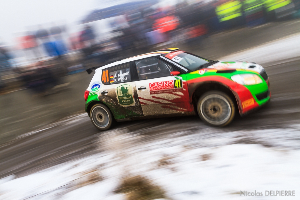 Rallye Monte-Carlo 2015 - A. Kremer - Skoda Fabia 2000