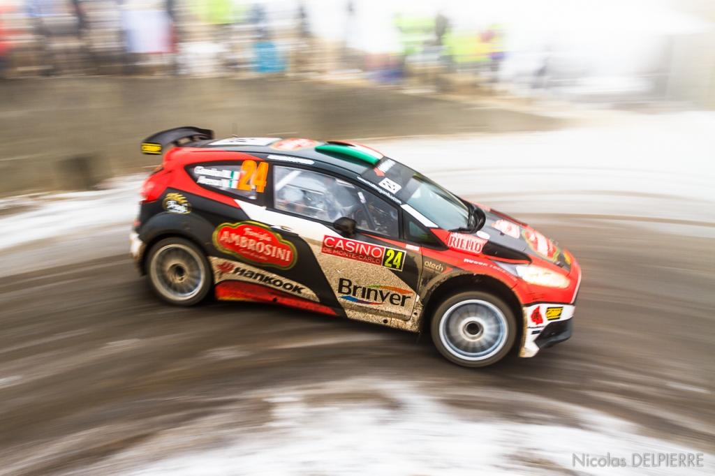Rallye Monte-Carlo 2015 - M. Gamba - Ford Fiesta R5