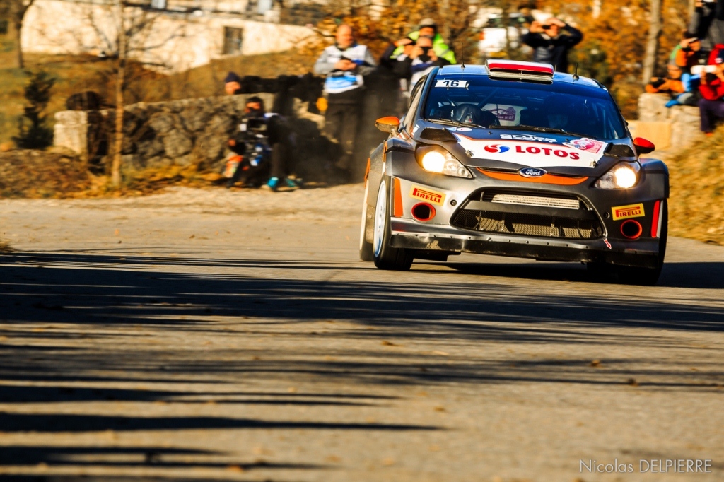 Rallye Monte-Carlo 2015 - R. Kubica - Ford Fiesta WRC