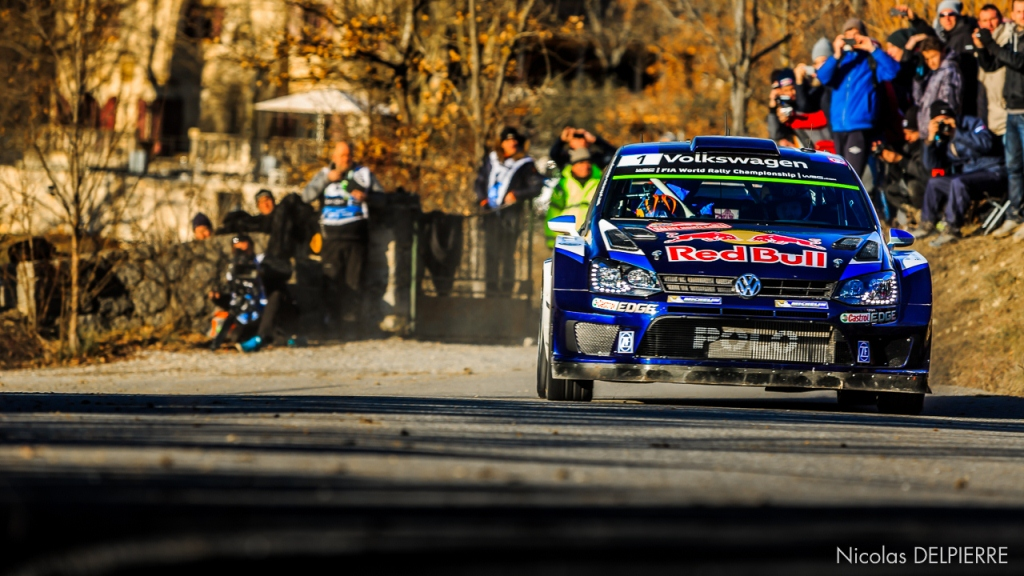 Rallye Monte-Carlo 2015 - S. Ogier - VW Polo WRC