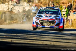 Rallye Monte-Carlo 2015 - T. Neuville - Hyundai i20 WRC