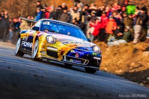 Rallye Monte-Carlo 2015 - F. Delecourt - Porsche 911