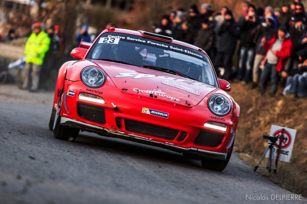 Rallye Monte-Carlo 2015 - R. Dumas - Porsche 911