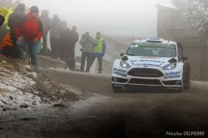 Rallye Monte-Carlo 2015 - O. Tanak - Ford Fiesta WRC