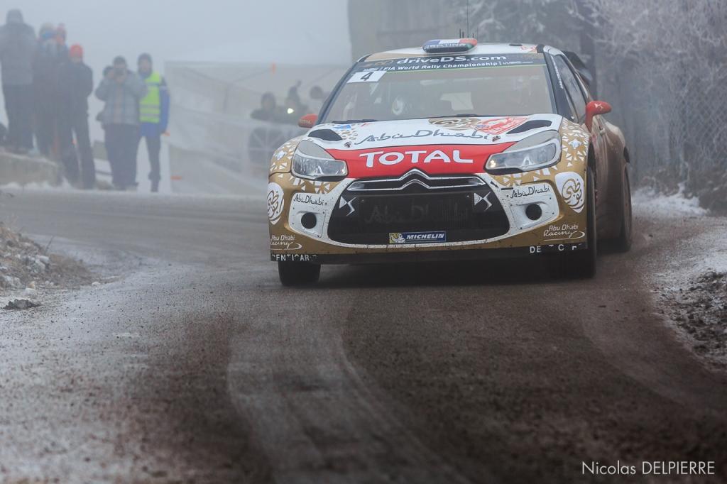 Rallye Monte-Carlo 2015 - S. Loeb - DS3 WRC