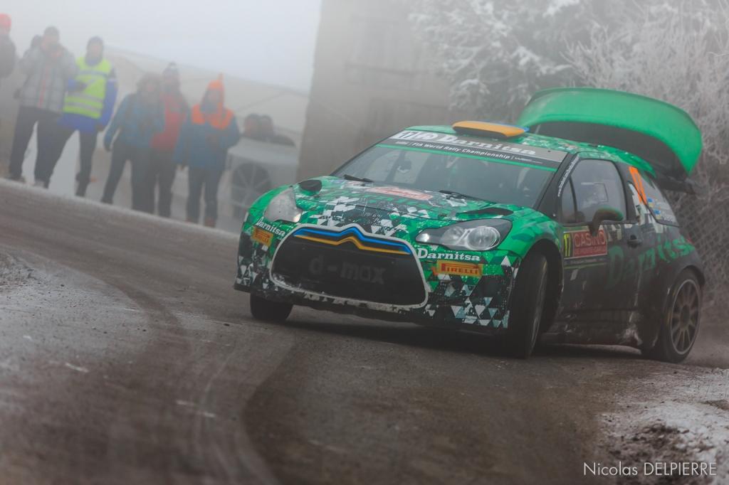Rallye Monte-Carlo 2015 - Y. Protasov - DS3 WRC