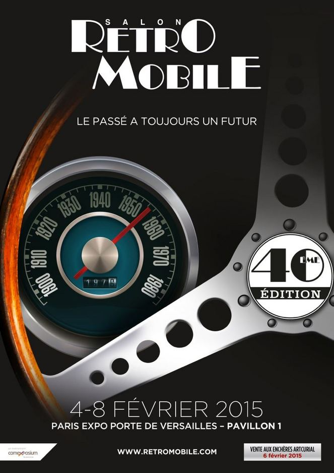 Retrouvez nos articles sur Rétromobile 2015 à Paris / See our articles on the Paris Classic Motorshow 2015