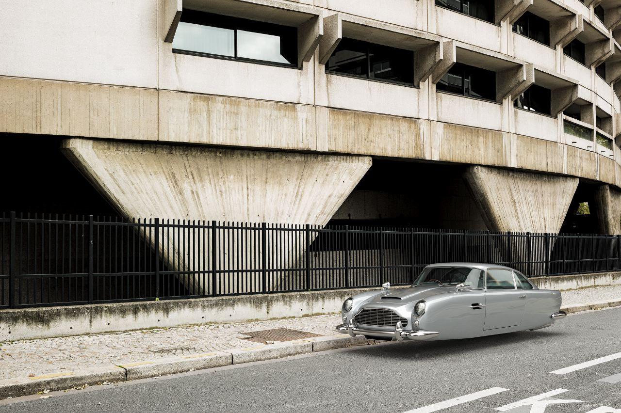Air Drive Aston Martin DB5 - Renaud Marion