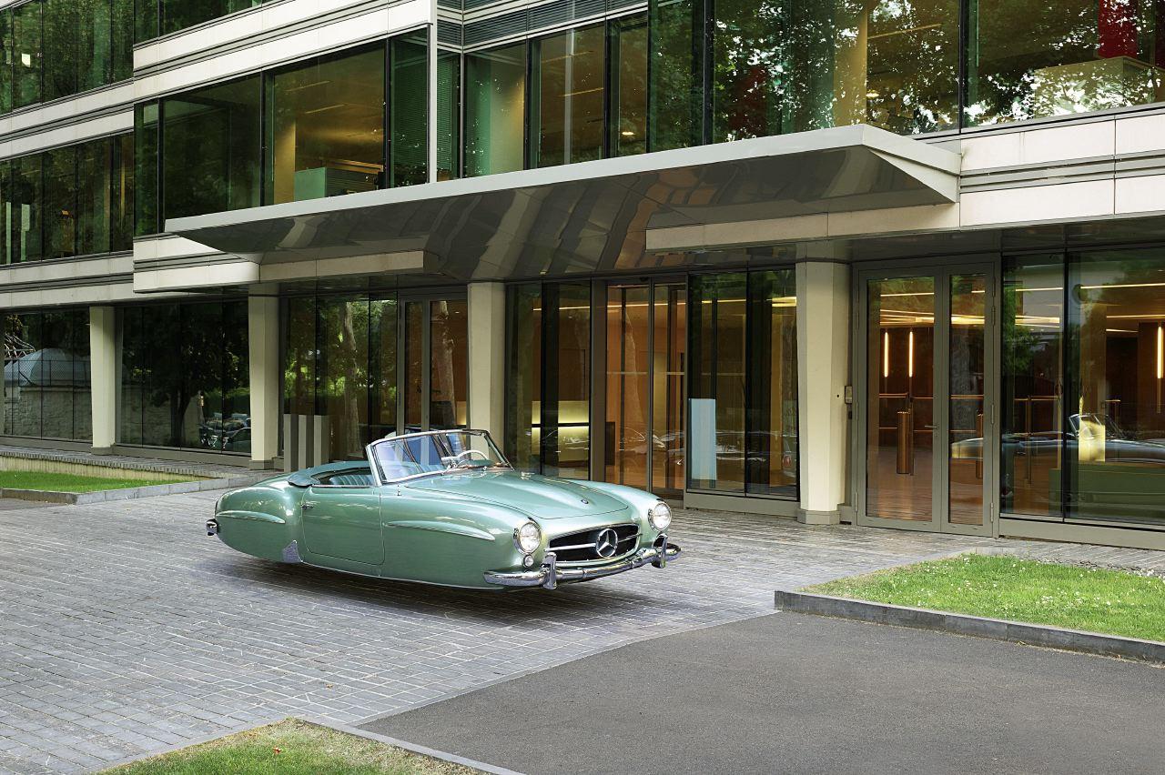 Air Drive Jaguar Mercedes 190 SL - Renault MarionAir Drive Jaguar Mercedes 190 SL - Renaud Marion