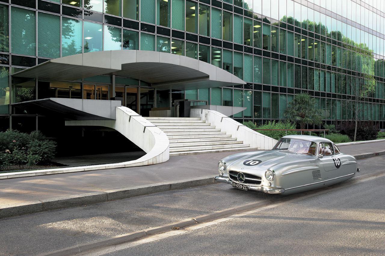 Air Drive Jaguar Mercedes 300 SL - Renaud Marion