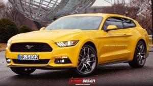 Break de chasse par X-Tomi Design - Ford Mustang