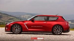 Break de chasse par X-Tomi Design - Nissan GTR