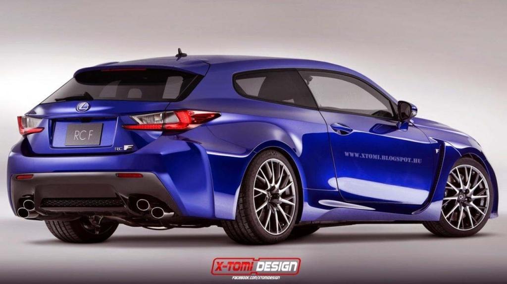 Break de chasse par X-Tomi Design - Lexus RCF