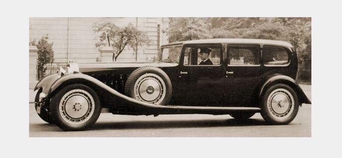 Bugatti Royale Limousine Park Ward
