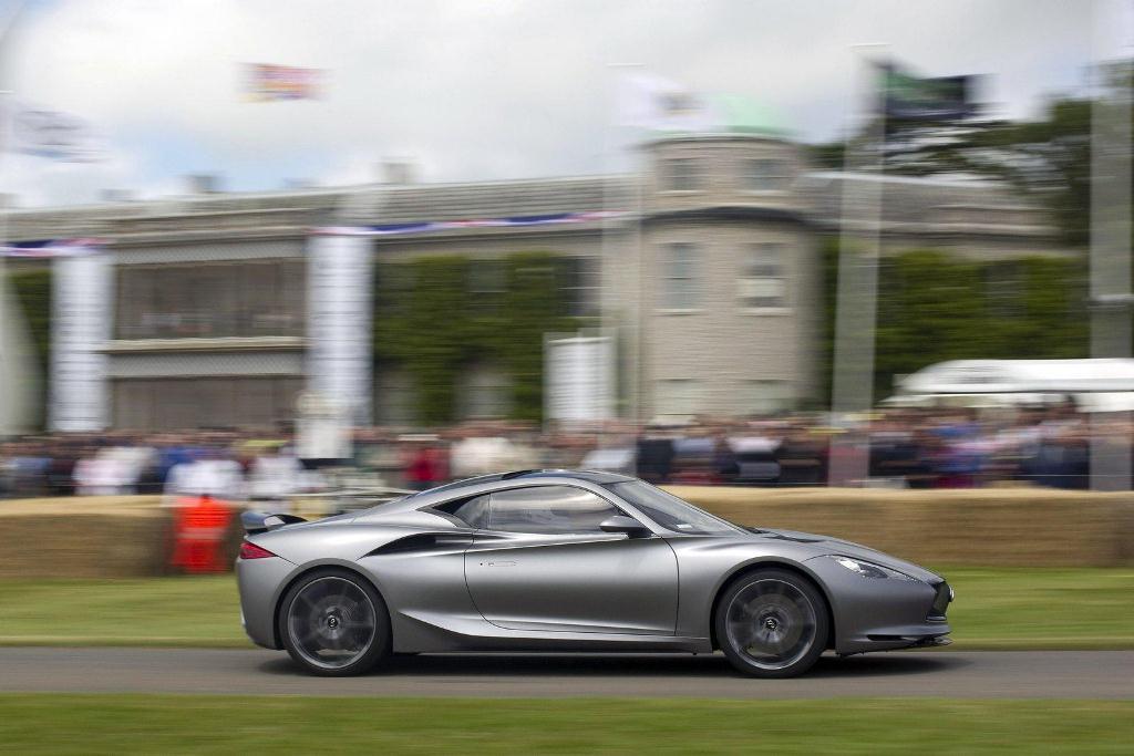 Infiniti Emerg-e Concept - Festival Of Speed Goodwood - Mark Webber