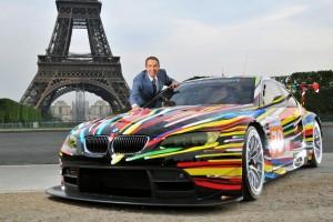 BMW E92 M3 GT2 Art Car #79 - Jeff Koons