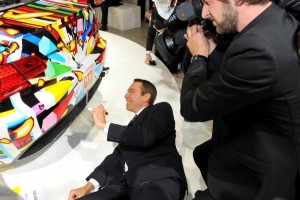 BMW E92 M3 GT2 Art Car #79 - Jeff Koons