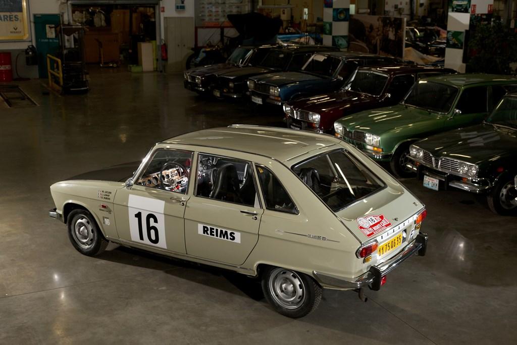Les 50 ans de la Renault 16 au Monte Carlo Historique