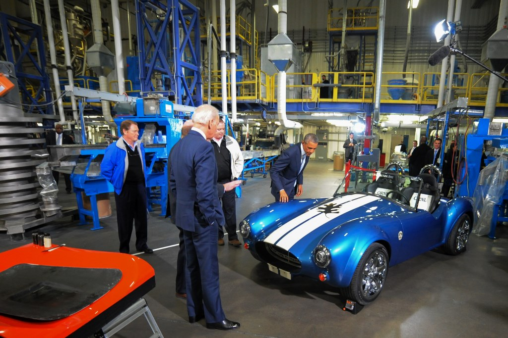 AC Cobra imprimante 3D - President USA Barack Obama & Vice President USA Joe Biden