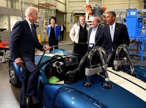AC Cobra imprimante 3D - President USA Barack Obama & Vice President USA Joe Biden