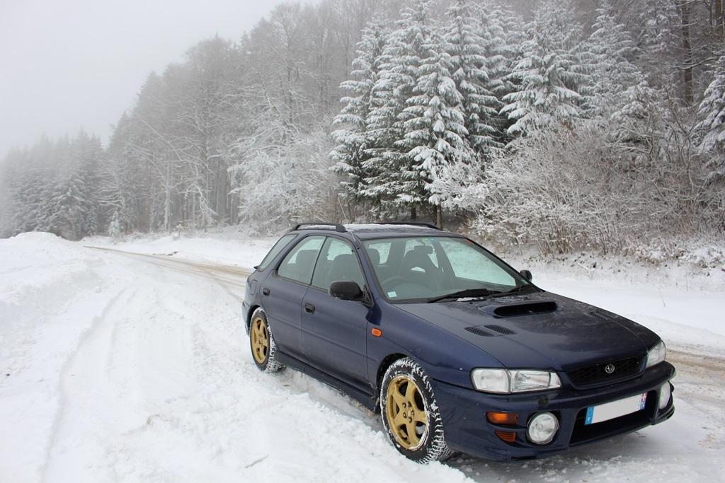 Subaru Impreza GT 2.0 turbo AWD Sport Wagon (1999)