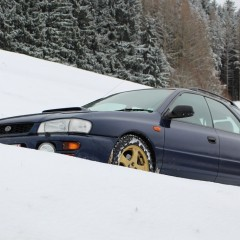 Essai classic : Subaru Impreza 1999 sur glace