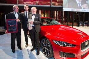 Jaguar XE élue plus belle voiture de l'année 2014