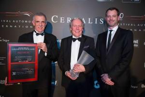 Jaguar XE élue plus belle voiture de l'année 2014 - Marc Luini, Richard Agnew, Ian Callum