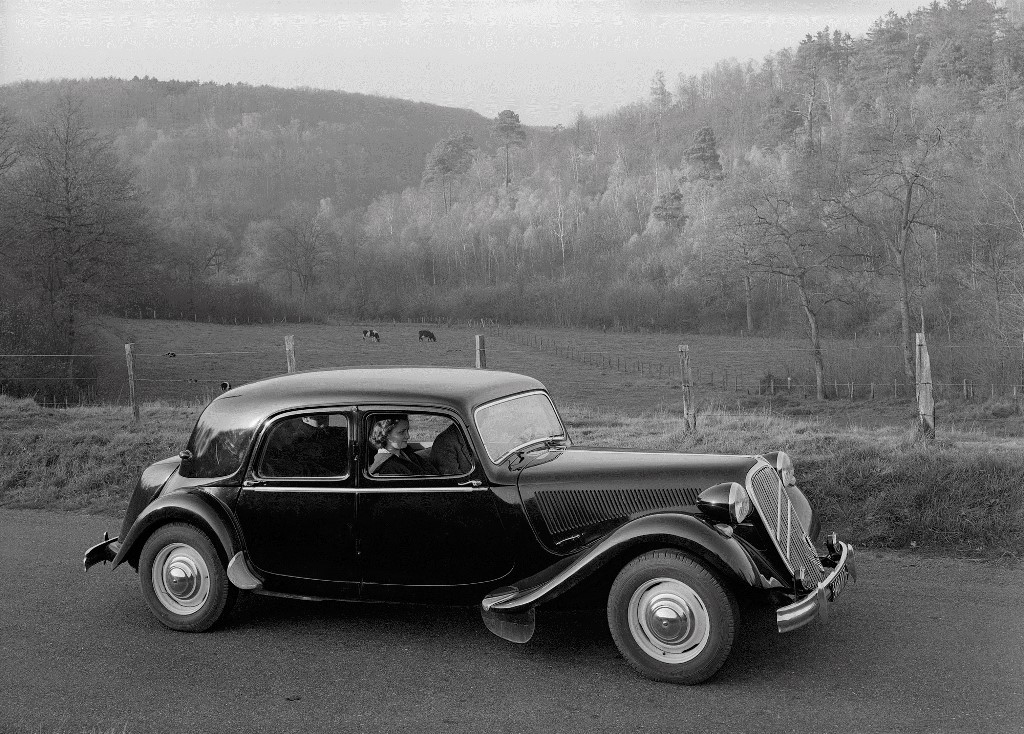 Citroën à Rétromobile - Traction Avant