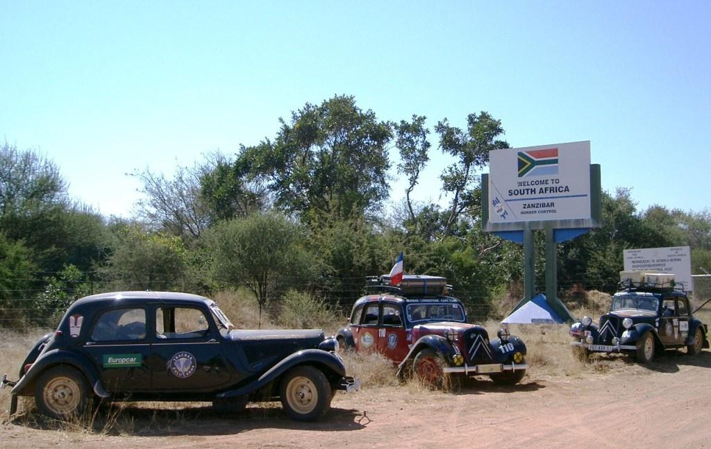 Tracbar Zulu 2004 : L'Afrique Australe en Traction Avant