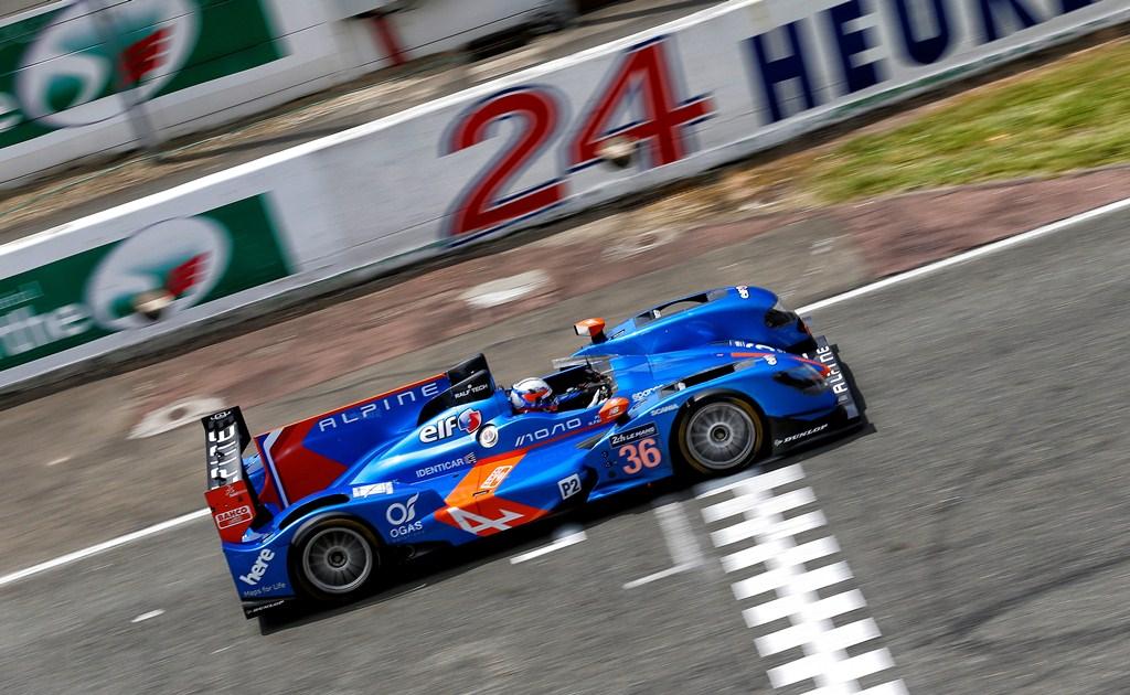 Alpine A450B 24H du Mans 2014