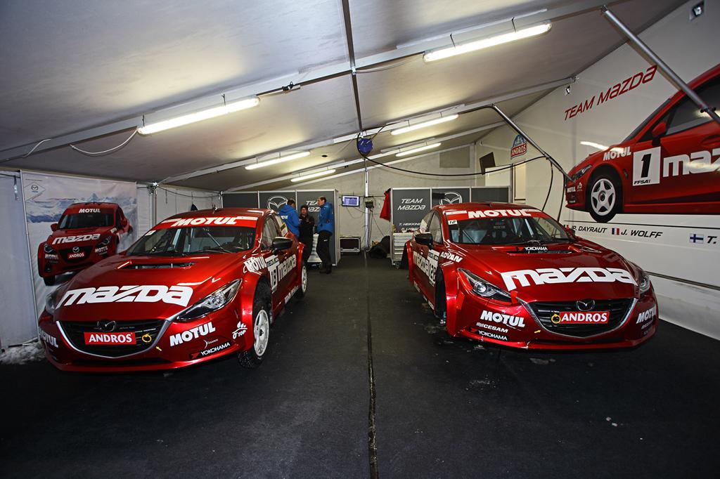 Trophée Andros à Super Besse : Jean-Philippe Dayrault et Mazda titrés