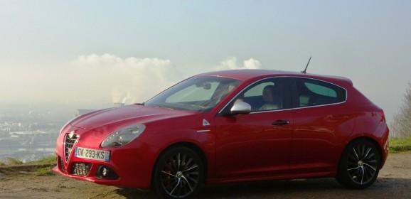 Essai Alfa Romeo Giulietta Quadrifoglio Verde : Entre deux eaux