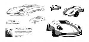 Porsche 901 Concept par Ege Argüden