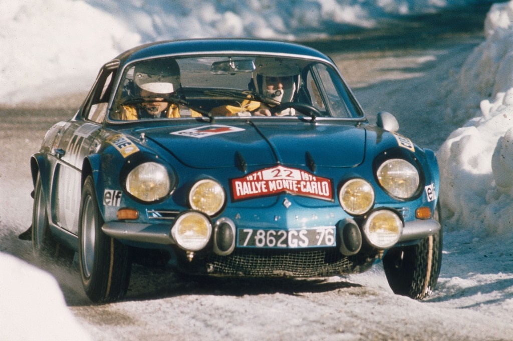 60 ans d'Alpine à Rétromobile - Alpine A110