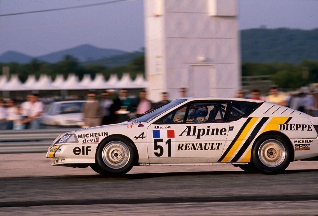 60 ans d'Alpine à Rétromobile - Jean Ragnotti