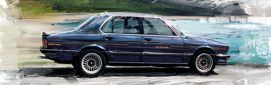Alpina B7S Turbo (berline Série 5) 1981