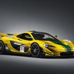 McLaren P1 GTR en couleurs, et pas n'importe quelles couleurs !