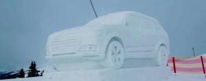 Audi Q7 neige et glace
