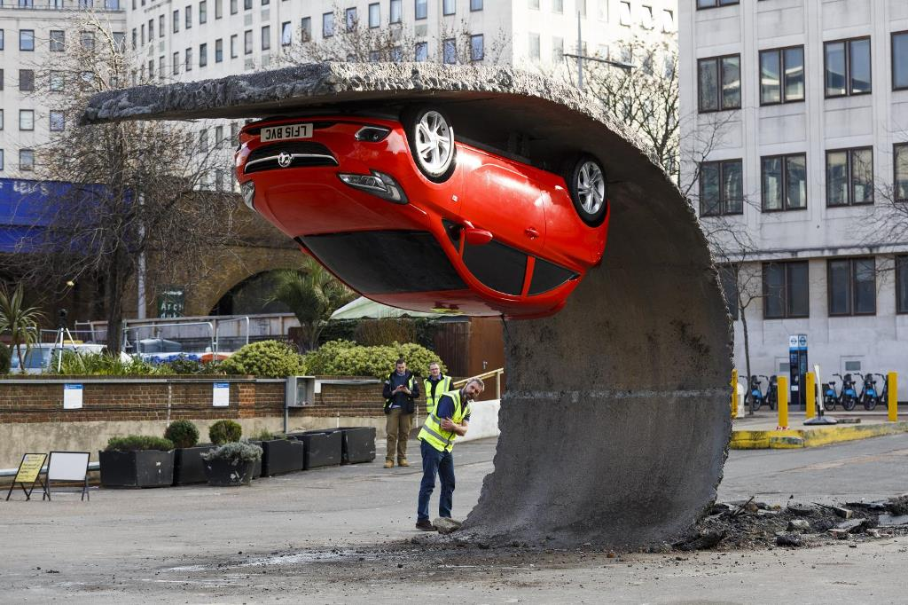 Vauxhall et Alex Chinneck